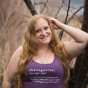 Ladies Okanaganite heather aubergine relaxed tank - 351 Apparel
