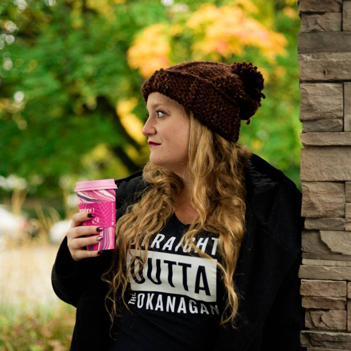 Straight Outta the Okanagan Ladies Relaxed Tank | 351 Apparel