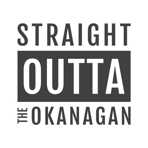 Straight Outta the Okanagan design - 351 Apparel