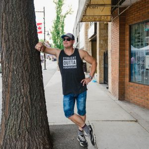Unisex Straight Outta the Okanagan tank for Ladies & Men - 351 Apparel