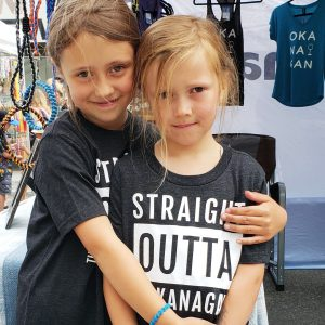 Youth 'Straight Outta the Okanagan' T-Shirt
